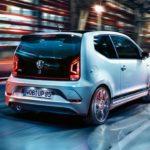 Nuova Volkswagen up GTI Napoli retro