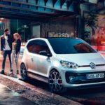 Nuova Volkswagen up GTI Napoli frontale